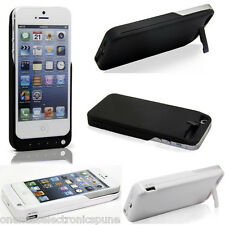 iPhone 5 / 5S Power Bank Case Cover 4200 mAh Juice Pack with USB Output