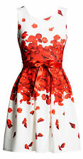 CELEBRITY INSPIRED Gorgeous Floral Petals Printed PARTY EVENING DRESS - 8 10 12