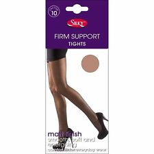 Ladies Womens Firm Support Tights Factor 10 By Silky Size M-L-XL 3 Colours