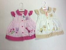 Baby Girls White/Pink Butterfly Dress
