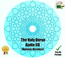 The Holy Quran - High Quality Audio CD (Various Reciters) For Cars