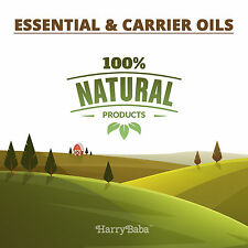100% Pure & Natural Essential & Carrier Oils -Therapeutic Grade