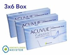 Acuvue OASYS Hydraclear - Contact Lenses - Kontaktlinsen - 3x6 - All Sizes - New