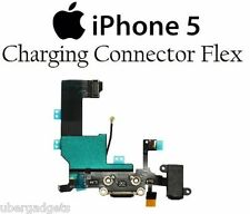 IPhone 5 Replacement Dock USB Connector Charging Port Mic Flex Cable Black White