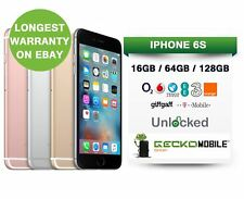 Apple iPhone 6S - 16GB 64GB 128GB - Unlocked EE O2 - Space Grey Rose Gold Silver