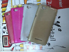 Good Quality Shiny Silicon Soft Back Cover Case For  Sony Xperia M C1904 / C1905