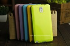 Shiny Silicon Soft Back Cover Case For Samsung Galaxy Note 3 III N9000