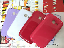 2. Shiny Silicon Soft Back Cover Case For Samsung Galaxy Star Pro S7262 & S7260