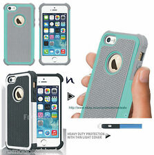 PREMIUM STYLE RUGGED Protective HARD BACK CASE COVER FOR Apple iPhone 5 5G 5S