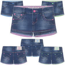 Mädchen Capri-Hose Jeansshorts Rock-Shorts Kurzehose Bermuda Shorts Hot Parts