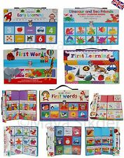 10x Baby's Early Learning Work books Pre School Toy Activities Learning Gift Set