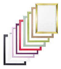 Rainbow  Flat Frames Photo Frame Poster Frame Choice of Colours /Sizes
