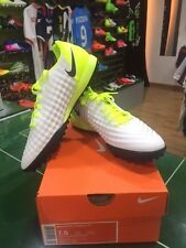 NIKE SCARPE SHOES CALCETTO MAGISTAX ONDA TF BIANCA GIALLA MOTION BLUR PACK 2017