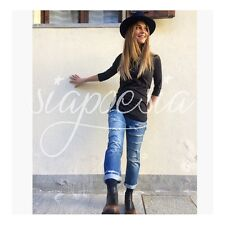 Jeans Melly Denim con Strappi Up Jeans 2016-2017