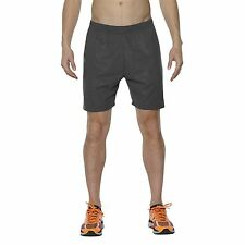 Asics FuzeX 7in print short dark grey