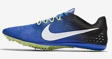 Nike ZOOM VICTORY-3 MENS RACING SPIKE SHOES,COBALT/BLACK/WHITE-US 11.5,12 Or12.5