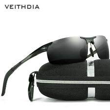 Polarized Sunglasses UV400 Men's Outdoor Metal Frame Sunglasses Sports Glasses