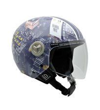 Nzi - Casco jet Helix IV New York multicolor