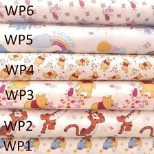 Official Disney Winnie the pooh Dressmaking Craft Fabric 100% Cotton