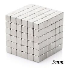 4 to 64 Pieces of 5mm x 5mm x 5mm Neodymium Magnets N52 Rare Earth NdfeB Cube