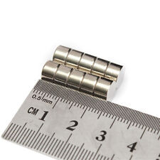 Set Of 10 to 50 Pieces 8mm x 5mm Round Rare Earth Neodymium Strong Magnet N52