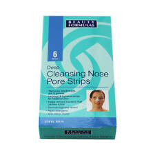 Women's Nose Strips Deep Cleanse Pore Cleansing for Blackheads Pack of 6 Strips
