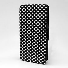 Polka Dot estampado Funda libro para Apple iPod - t1056