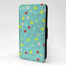 Polka Dot estampado Funda libro para Apple iPod - t1054