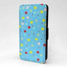 Polka Dot estampado Funda libro para Apple iPod - t1053