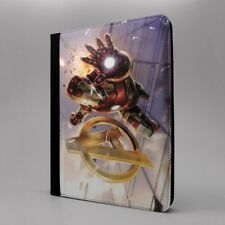 Maravilla Iron Man Funda libro para Apple iPad - t1570
