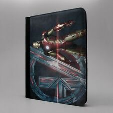 Maravilla Iron Man logo Funda libro para Apple iPad - t1569