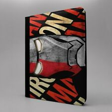 Maravilla Iron Man Funda libro para Apple iPad - T290