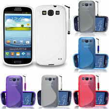 housse de protection pour Samsung Galaxy S3 i9300/i9305 Neo Etui en silicone TPU