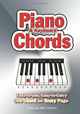 Piano and Keyboard Chords. Easy to Use, Easy to Carry, One Chord on Every Page,