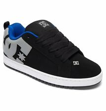 DC shoes skate court graffik NERO ARMOR 300529 BKO Uomo UK TAGLIE 16 & 17