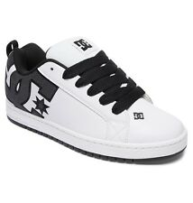 DC Shoes Skate COURT GRAFFIK SE BIANCO ANTRACITE 300927 WC5 uomo numeri UK 7 -