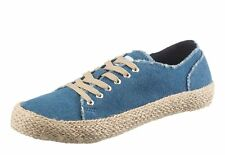 Arizona Damen Schnürschuh, 221037 in Jeansblau