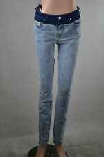 DIESEL SKINZEE lavare 0852t Jeans donna aderente skinny fit pantaloni