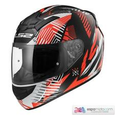 Casco LS2 ROOKIE FF352 Infinite White / Black / Red