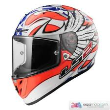 Casco LS2 ARROW R EVO FF323 Freedom White / Orange / Blue