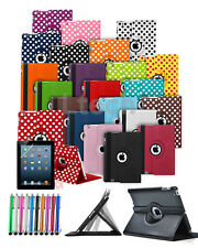 "Samsung Galaxy Tab E (9.6"") SM-T560 Tablet Case Cover with 360 Rotating & Stylus"
