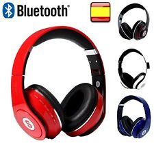 BLUETOOTH CASCOS AURICULARES INALAMBRICOS MICRO SD RADIO FM MOVILES PC TABLET