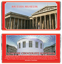 London souvenir, gift, British Museum, Milk Chocolate Bar, Memorabilia