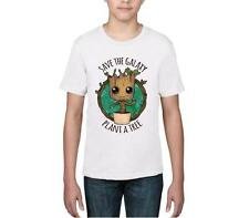 KIDS 'SAVE THE GALAXY PLANT A TREE' GUARDIANS OF THE GALAXY - BABY GROOT - TEE
