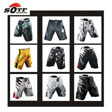 Boxing Shorts MMA Grappling Fight Trunks Men Sports Fitness Cage Muay Thai Pants