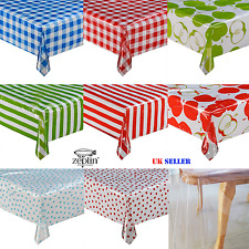 ROUND Colourful Vinly TABLECLOTH Protector Dotka Waterproof TABLE COVER Dotka PP