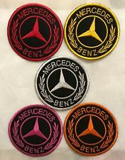 Mercedes Benz Iron on Sew on Car Sports Embroidered Brand New Patches Badges N49