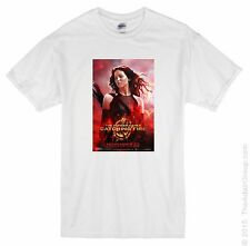 THE HUNGER GAMES Catching Fire POSTER TSHIRT All Sizes