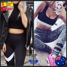 Women Running Yoga Gym Sports Pants Fitness Workout Jogging Tights But Booty Fit