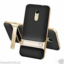 Dual Hybrid Back Cover With Stand PC+TPU Case For Xiaomi Redmi Note 4 Indian